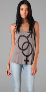 BOYFRIEND/GIRLFRIEND Man / Woman Racer Back Tank
