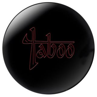 15 lbs Hammer Taboo Jet Black Medium Oil Bowling Ball 15 Lbs