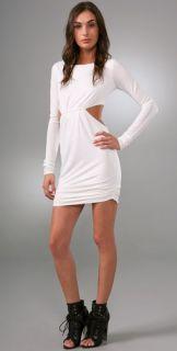 Pencey Long Sleeve Backless Dress