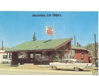 1950s Jacumba CA Cafe View Novelty PC Magnet