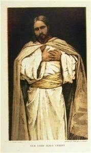 Our Lord Jesus Christ 1896 J James Tissot Chromo Christianity