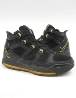 Nike LEBRON JAMES III 3 PLAYOFFS Blk Gold MAX 360 2006 Basketball