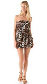 Tbags Los Angeles Strapless Mini Dress