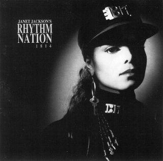 Rhythm Nation 1814 by Janet Jackson CD 075021392021