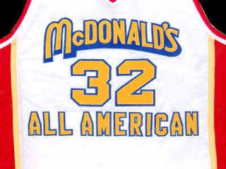 Lebron James McDonald All American Jersey White New Any Size