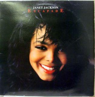Janet Jackson Escapade 12 Vinyl SP 12352 VG 1989