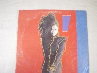 Janet Jackson Vintage Vinyl LP Record Album Control