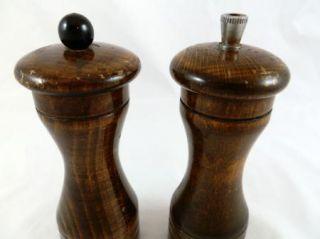 Marlux Made in France Wooden Salt Pepper Mill Grinder Set