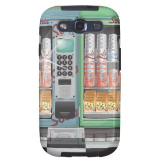 Soda Vending Machines Galaxy SIII Cases
