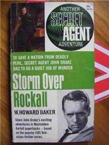 Secret Agent Man TV Series Tie in PB Book 1966 Storm