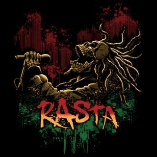 Reggae Lion Selassie Jamaica Flag Bob One Love Music Skull