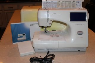 Janome Memory Craft 9000 New Home Sewing and Embroidery Machine