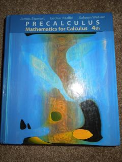 Mathematics for Calculus by James Stewart Saleem Watson and L