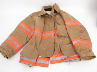 Fireman Firefighting Suit Turnout Gear Helmet Pants Jacket Boots