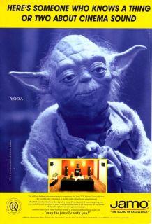 JAMO YODA 1996 magazine ad loudspeakers speakers audio hi fi hifi Star