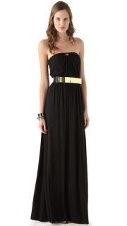 Rachel Pally Ida Strapless Dress with Metal Belt