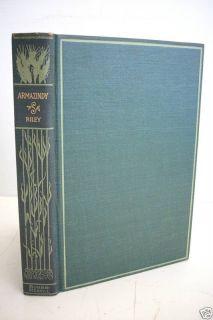 1894 James Whitcomb Riley Armazindy VG Condition