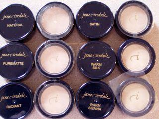 Jane Iredale Pressed Base Powder Warm Sienna Latte Mini Sample Travel