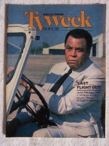 James Earl Jones Last Flight Out Chicago Tribune TV Guide May 20 1990