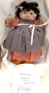 JAN SHACKELFORD SOFT SCULPT 9 5 HAND MADE CLOTH WILLIE LEE DOLL NEW