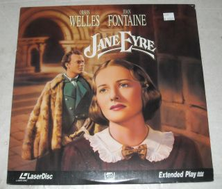 SEALED Movie Laserdisc 1944 Jane Eyre Orson Welles Joan Fontaine
