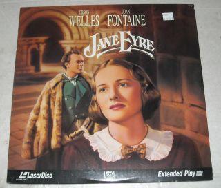 SEALED Movie Laserdisc 1944 Jane Eyre Orson Welles Joan Fontaine