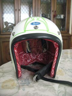 WEST COAST CHOPPERS JESSE JAMES VINTAGE BUCO HELMET AUSTIN SPEED SHOP