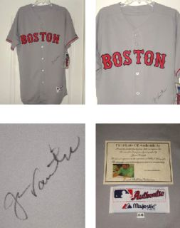 Jason Varitek Autographed Jersey Red Sox w Proof