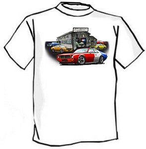 AMC AMX or Javelin Muscle Car Art Tshirt New