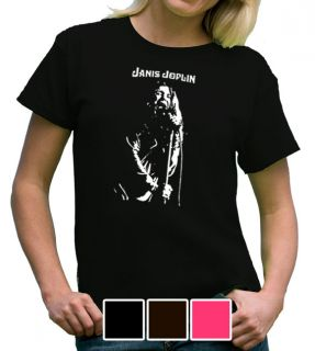 Janis Joplin Women Ladies Shirt Rock Punk Retro s XL Music Pop Soul 60