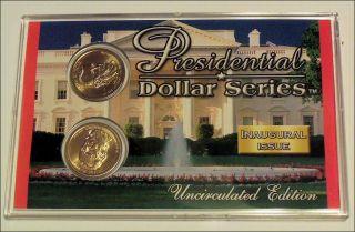 and 2009 D Presidential Dollar Inaugural Issue James K Polk BU