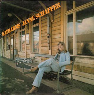 Janne Schaeffer 1973 First Sweden LP Four Leaf Clover L