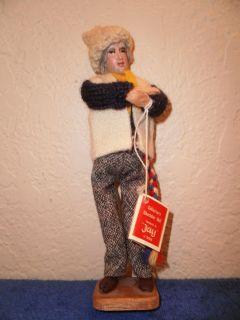Vintage 7 Ireland Dublin Handmade Jay Doll w Tag L K