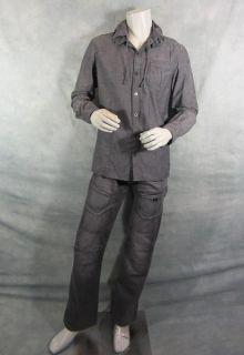 TERRA NOVA JIM SHANNON JASON OMARA SCREEN WORN STUNT SHIRT & PANTS EP