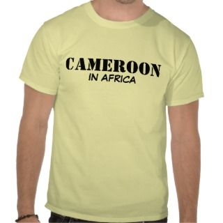 CAMEROON T SHIRTS