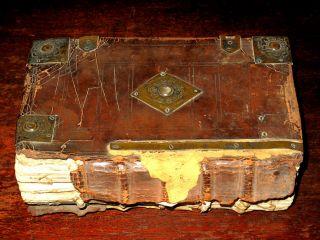 Antique KING JAMES 1646 Psalmes FAMILY KJV Linom MEAD Fine Binding