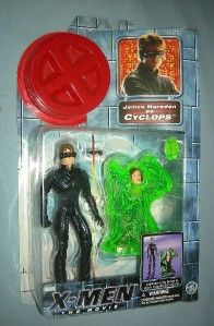 2000 Marvel X MEN The Movie James Marsden as Cyclops figure by Toy BIz