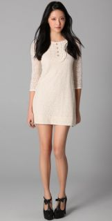 Juicy Couture 3/4 Sleeve Lace Dress