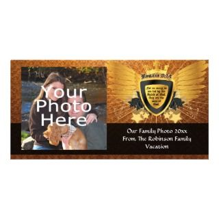 Invitación de la iglesia cristiana tarjeta fotografica de