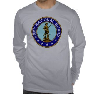 Army National Guard Logo Shirts