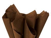 Chocolate Brown Tissue Paper Wholesale Lot 100 Sheets