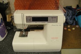 janome 8000 sewing and embroidery machine for parts or repair not
