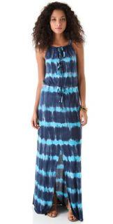 Young Fabulous & Broke Violet Maui Maxi Dress