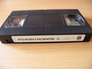 Sesame Street Dance and Sing Yourself Silly PAL VHS Video VGC