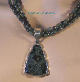 Jay King Mine Finds Kabamba Jasper Necklace Pendant