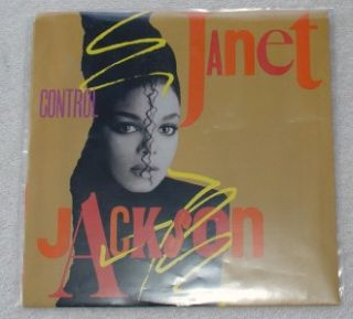 Janet Jackson Control Fast Girls 7 45 P s M NM