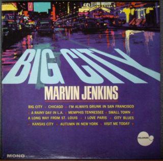 Marvin Jenkins Big City RARE 60s Jazz Vocal Palomar M