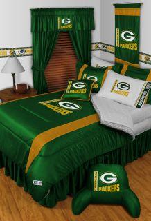 Green Bay Packers NFL Twin Full Queen Comforter Bed Set