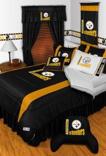 Pittsburgh Steelers Twin Full Queen Comforter Bed Sets