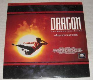 LASERDISC 1993 DRAGON The BRUCE LEE STORY JASON SCOTT LEE LAUREN HOLLY